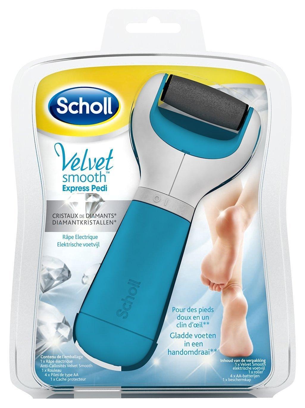 appareil de pédicure électrique Scholl velvet smooth express