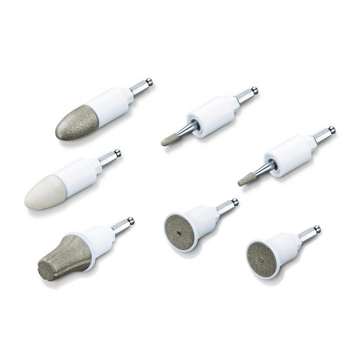 accessoires de l'appareil de pedicure electrique Beurer MP 41